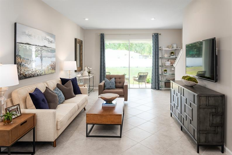 Bright, Open Floorplans at Magnolia Grove's Townhomes