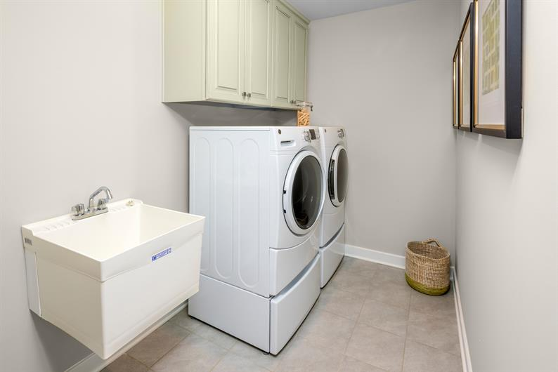 Want your laundry room on your 2nd floor?!