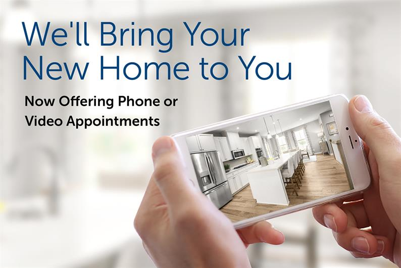 Model Homes are open By Appointment Only. Phone or Video Appointments also available