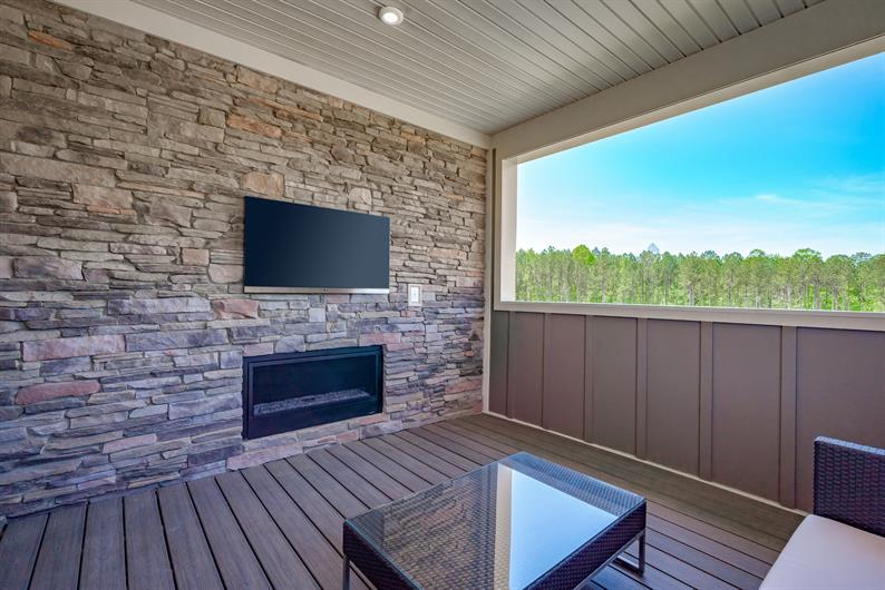 Enjoy the Views from your Outdoor Living Space