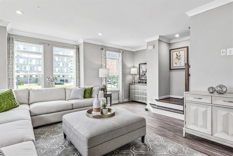 Bright, Open floorplans
