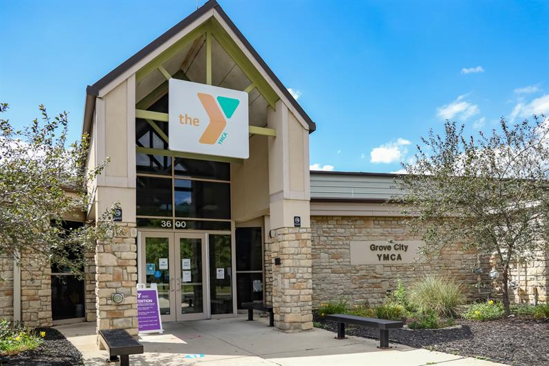 GET YOUR SWEAT ON AT NEARBY GROVE CITY YMCA