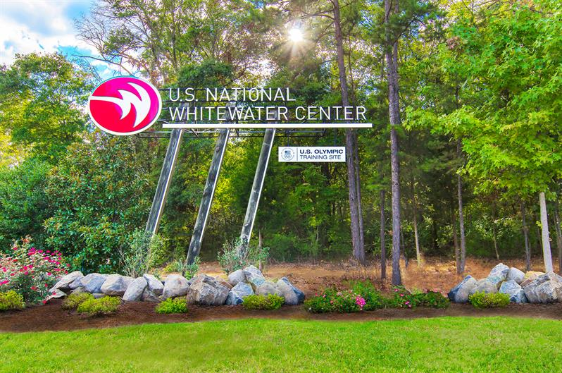 US National Whitewater Center is only 12 miles away