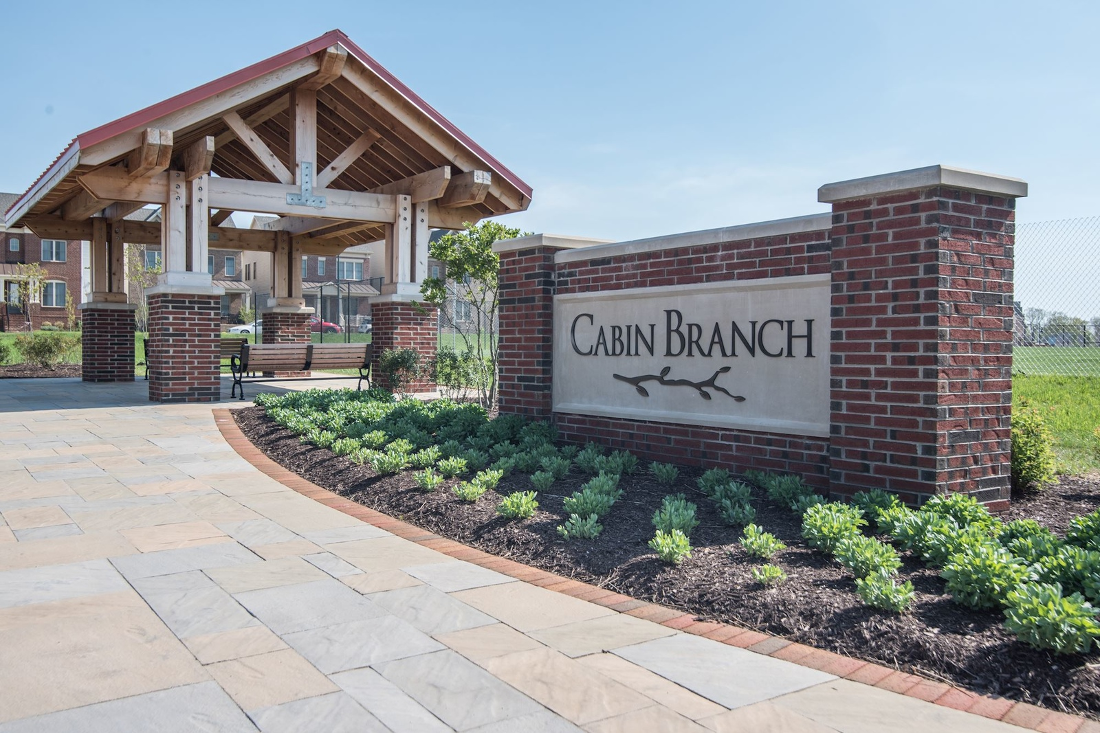 New homes for sale at cabin branch townhome condominiums for Cabin branch homes