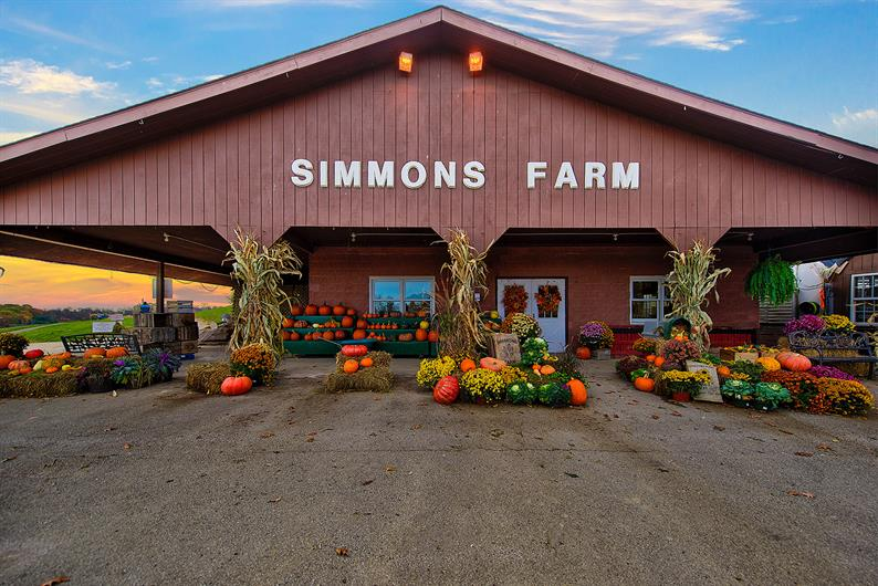 Simmons and Trax Farms both under 4 miles away