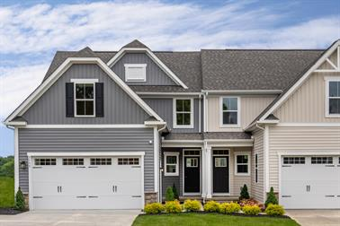 Blue Ridge 55 Villas Townhomes Villas And Main Level Owner S Suite Homes For Sale Ryan Homes