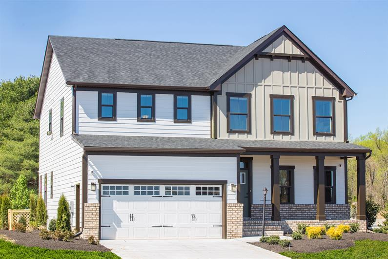 The Lehigh Home of the Month – 3010 SQ.FT | 4 BRS + LOFT | FIRST FLOOR STUDY | COVERED REAR PORCH