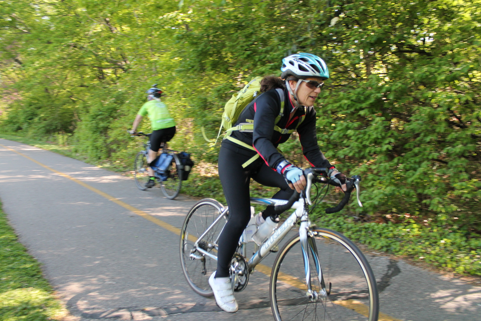 Saturday's bike ride is just a spin away. You could be on the W&OD Trail in mere minutes.