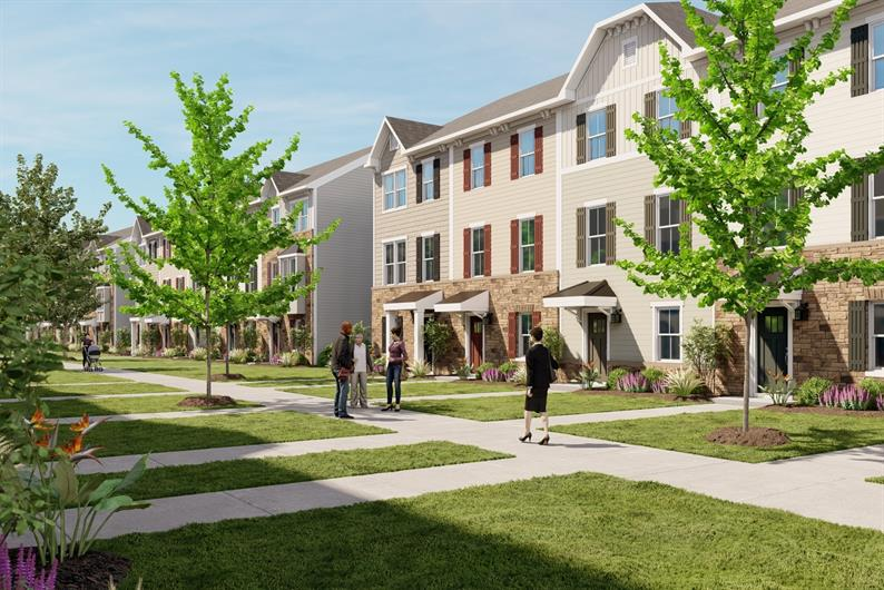 New Townhomes ½ a Mile to Concord Mills and I-485. From Mid $300s