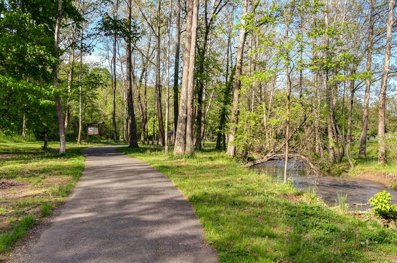 Easy access to the Chester Valley Trail