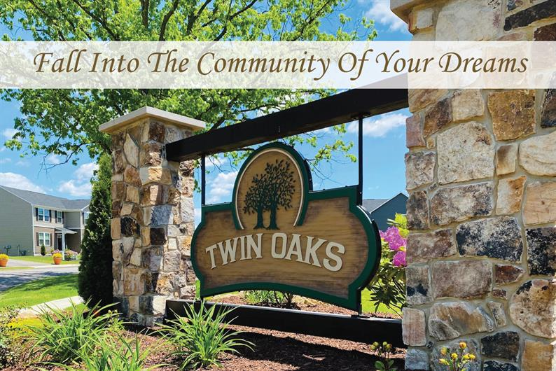 WELCOME HOME TO TWIN OAKS! SARVER'S PREMIERE NEW HOME COMMUNITY!